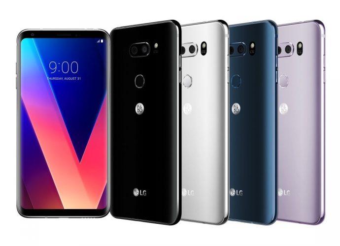 LG V30 TELÉFONOS ANDROID