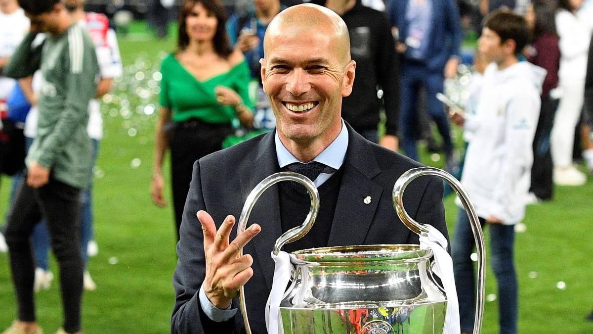 ZIDANE CON EL REAL MADRID FC